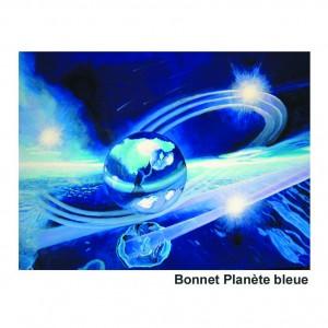 Bonnet Planète bleue