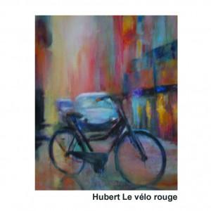 Hubert Vélo rouge