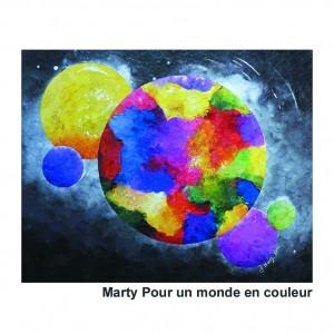 Marty pour un monde en couleur